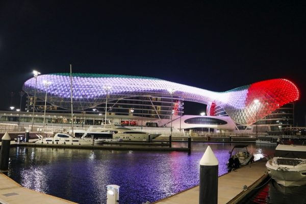 Yas Island to be covered in color for UAE's 49th National Day