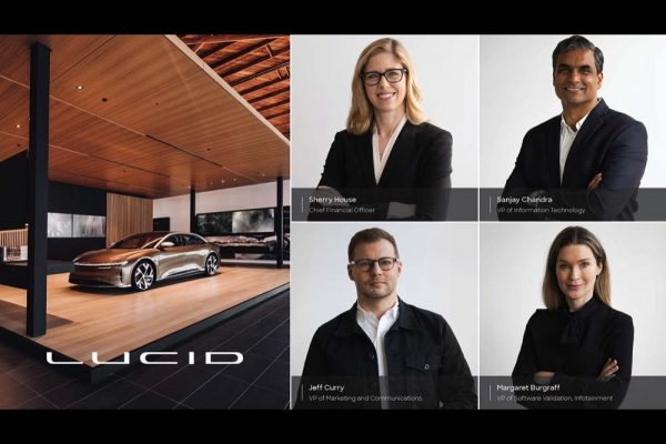 Lucid Motors Appoints Sherry House