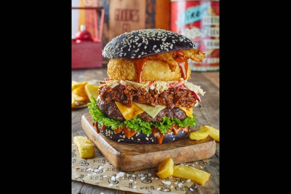 UP FOR A SUPER 'EXTRA' BURGER CHALLENGE
