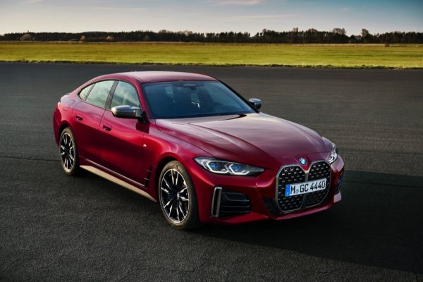 The all-new BMW 4 Series Gran Coupé.