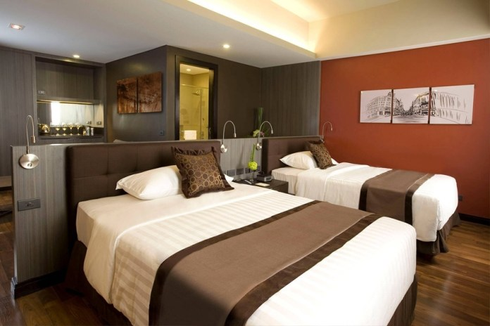 F1 Hotel Rainy Day Package City Suite Accommodation