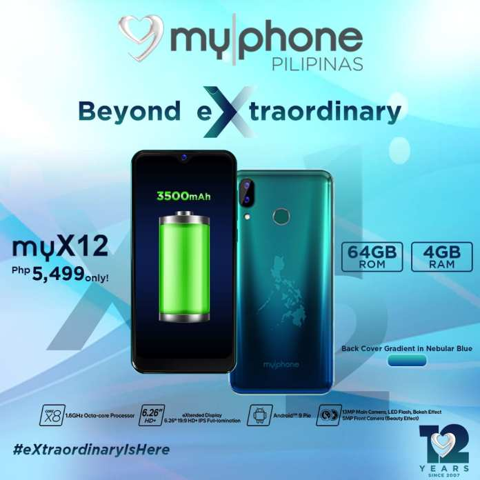 MyPhone myX12 Battery Back Cover