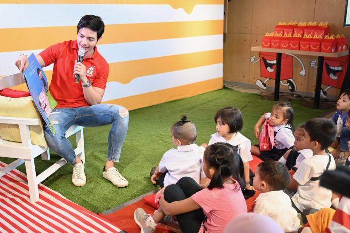 Alden Richards said he was excited to become RMHC's newest ambassdor so he can start spreading awareness about RMHC and its programs