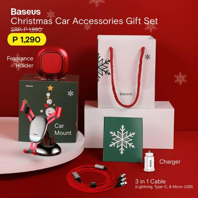 Baseus Car Accessories Christmas Gift Set