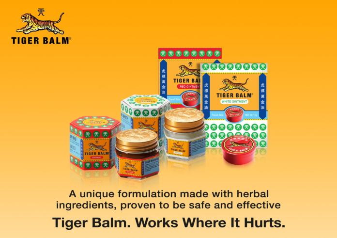 Tigerbalm products