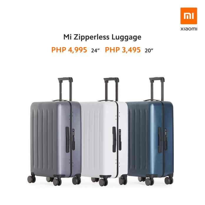 Mi Zipperless Luggage