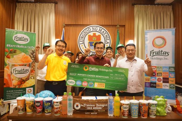 Fruitas Signs Up Another Fresh Endorser