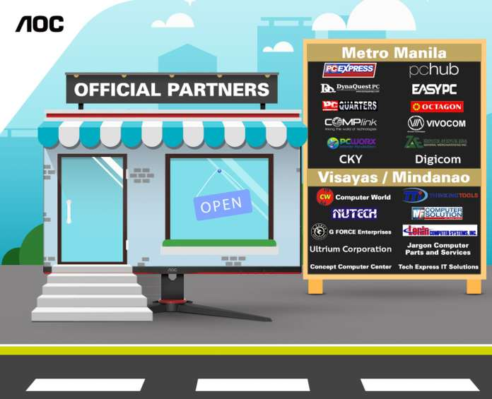 AOC Official Partners
