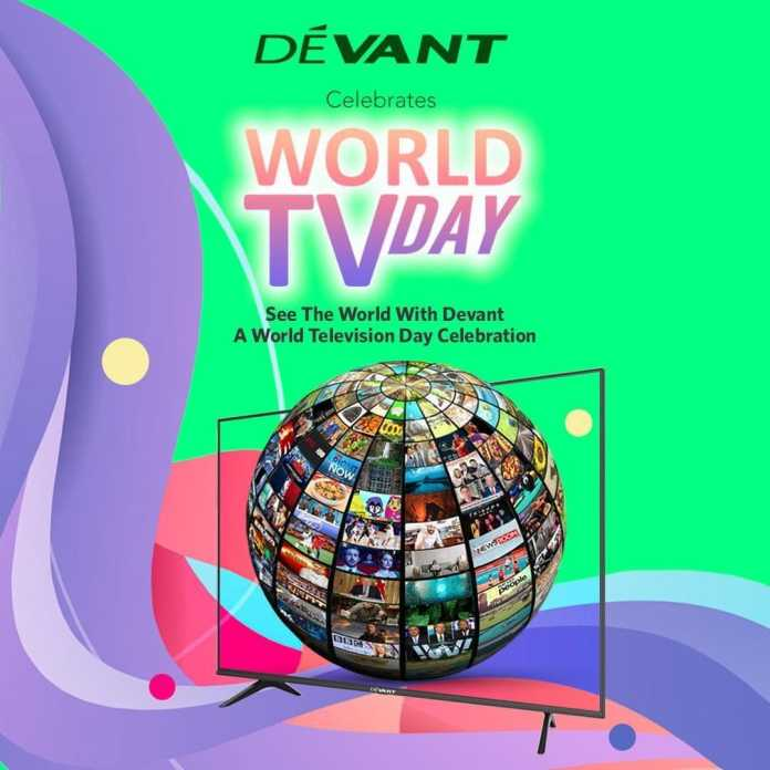GIVE BACK with Devant to Celebrate World TV Day