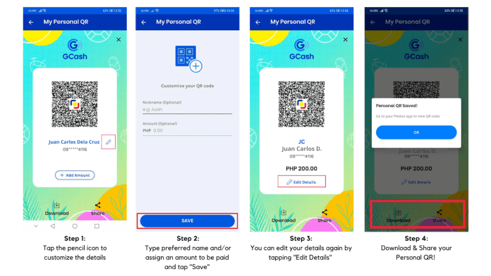 How To Customize Personal QR
