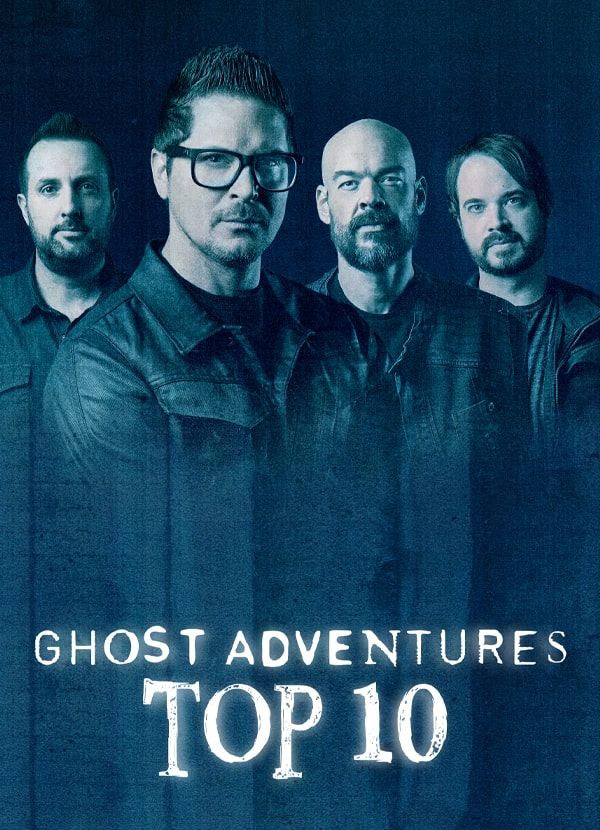 discovery+ Ghost Adventures Top 10
