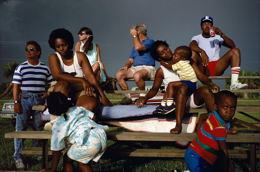 Alex Webb, Softball fans, 1989