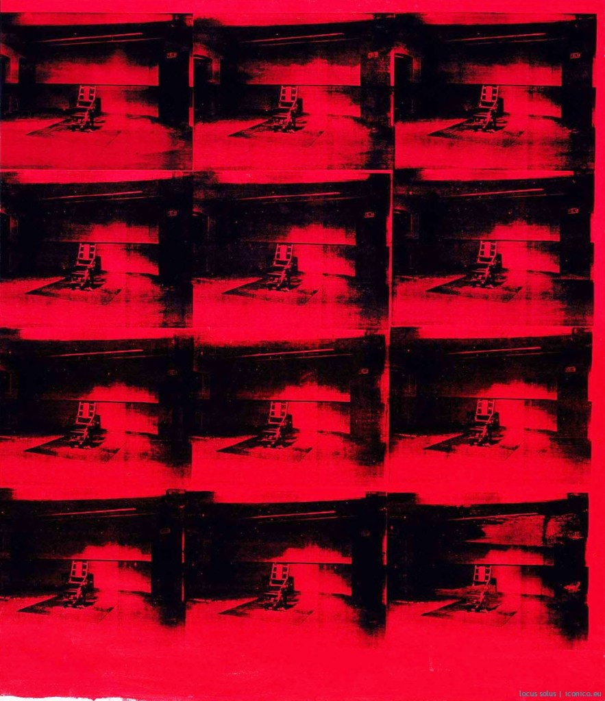 Andy Warhol, Electric chair red disaster, 1964