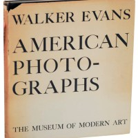 Copertina di Walker Evans, American Photographs, MoMA1938