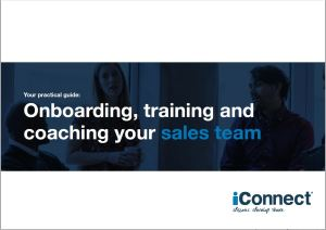 Onboardng, training and coaching your sales team