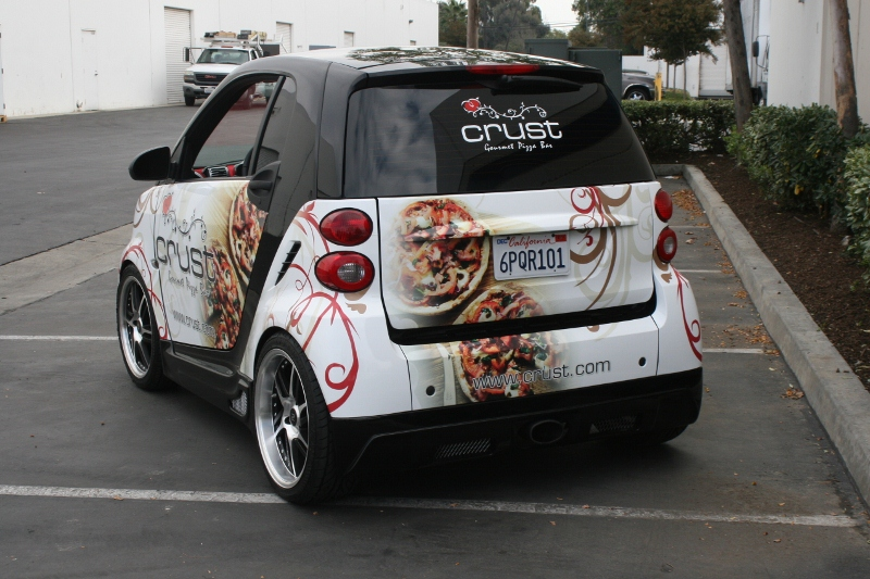 Custom Designed Smart Car Wrap By Iconography Long Beach