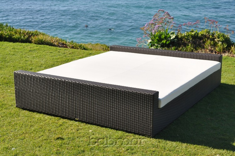 Marvelous Flatiron Rectangular Outdoor Sun Bed