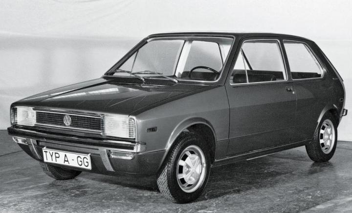 Volkswagen Golf: Prototipo EA 337 diseñado por Giugiaro | Volkswagen
