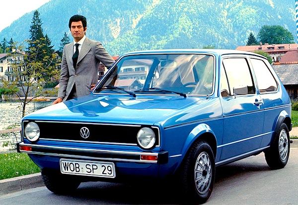 Giugiaro y el Volkswagen Golf