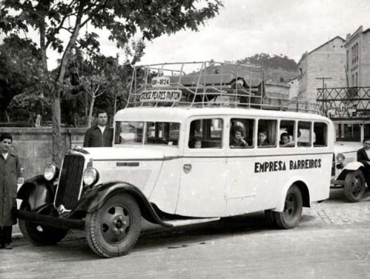 Autobus de línea de la familia Barreiros