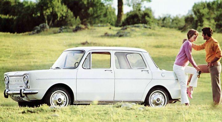 Simca 1000 francés (1963)