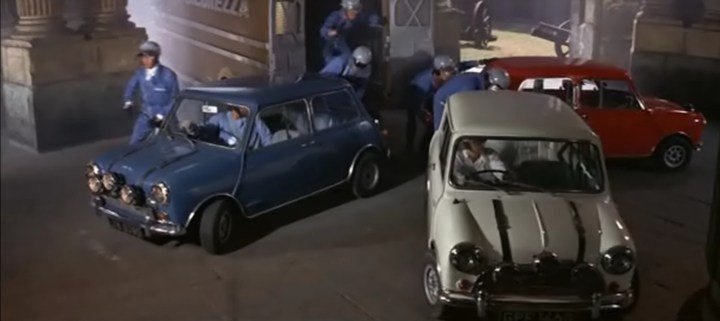 Coches y Películas | The Italian Job
