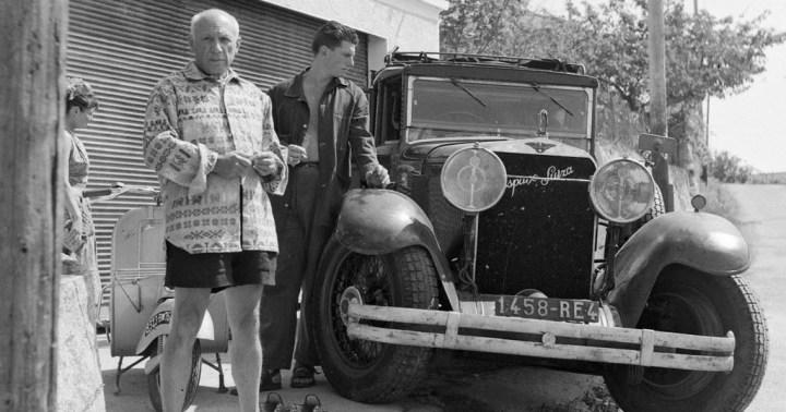 Pablo Picasso y su Hispano-Suiza H6B