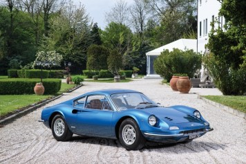 1969 Ferrari Dino 206 GT est. 550-600.000 €