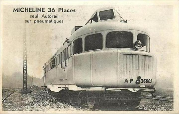 Micheline Tipo 16 con motor Hispano-Suiza