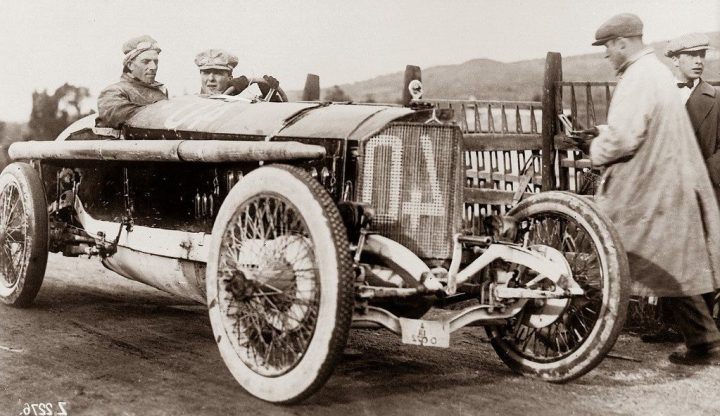 Historia de Mercedes-Benz: Mercedes 115 HP, ganador de la Targa Florio en 1914