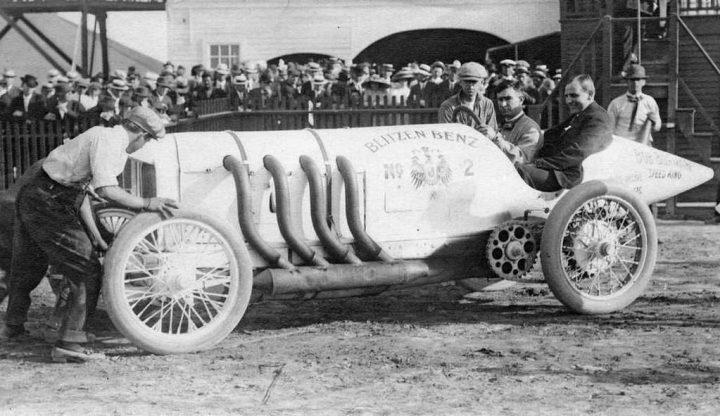 El Blitzen Benz construido en 1909 para batir récords de veolcidad