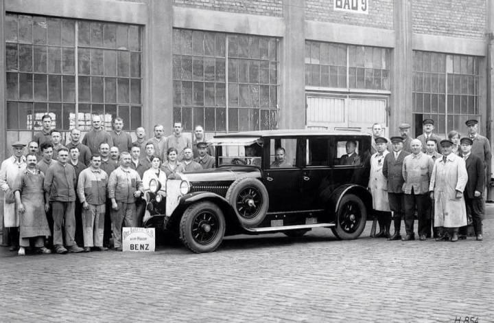 El último Benz fabricado antes de la fusión | Daimler AG