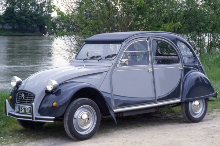 Coches clásicos franceses: Citroën 2CV