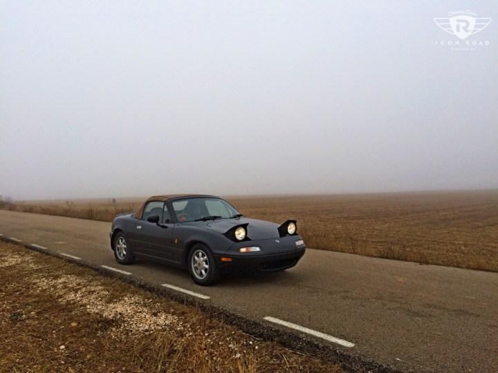 Mi primer coche clásico: Eunos Roadster, Sigüenza