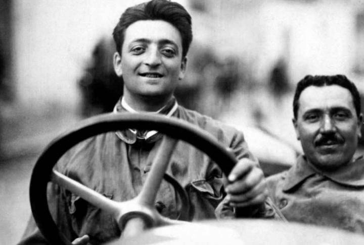 La edad de la inocencia... Ferrari en sus comienzos, allá por 1920