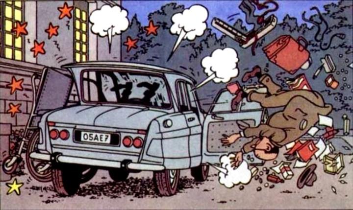 Coches y Comics: Tintin et Milu | Hergé