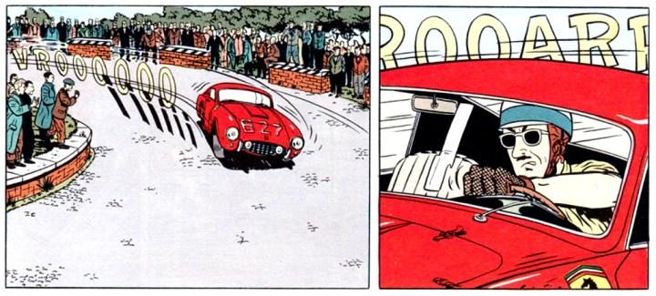 Coches y Comics: Mauro Caldi | Michel Constant