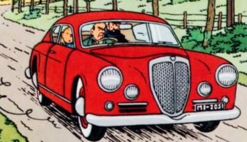 Tintin y los Coches