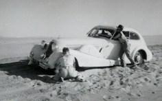 Barraquer cruzando el desierto | Familia Barraquer