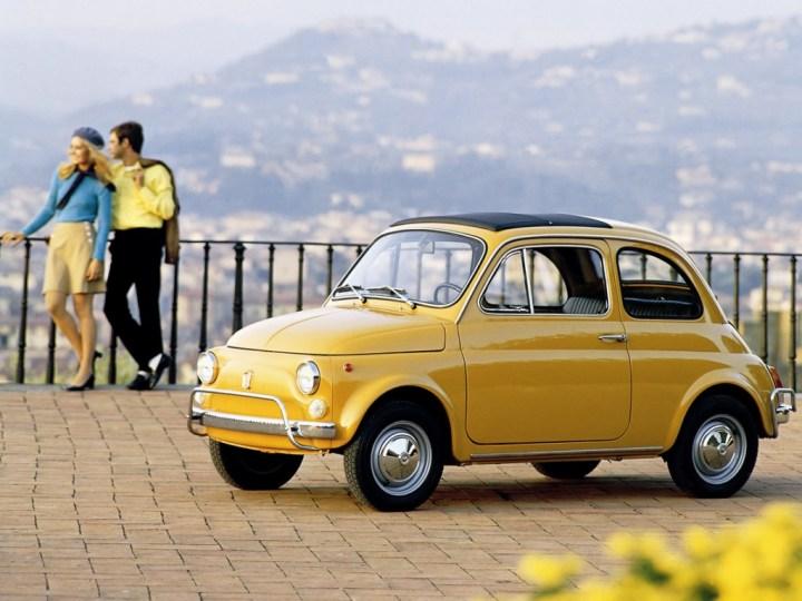 Coches clásicos italianos: Fiat Nuova 500 | FCA