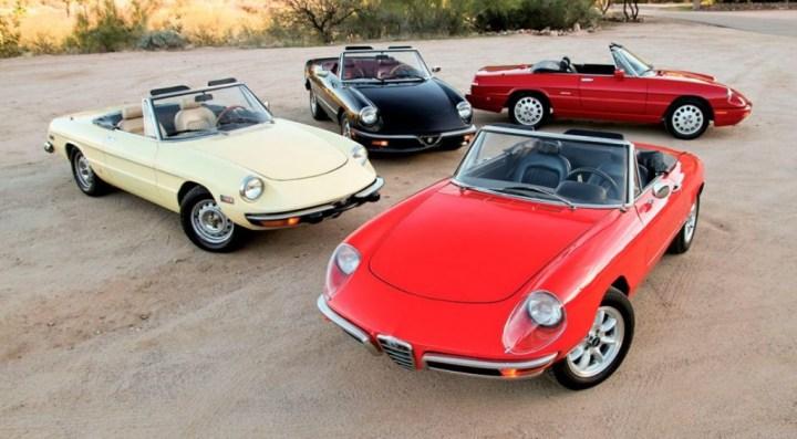 Coches clásicos italianos: Alfa Romeo Spider   Matthew Litwin & Jeff Koch