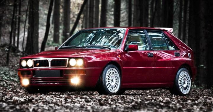 Coches clásicos italianos: Lancia Delta Integrale | delta-integrale.com