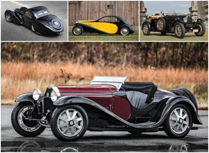 Bugatti diseños de Jean