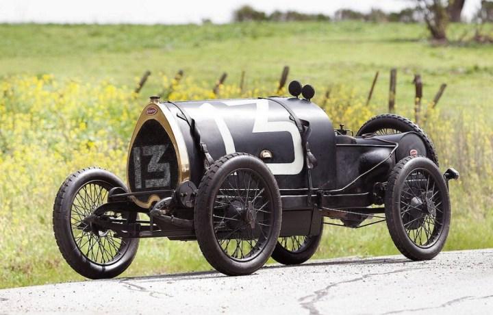 El pequeño Bugatti Tipo 13