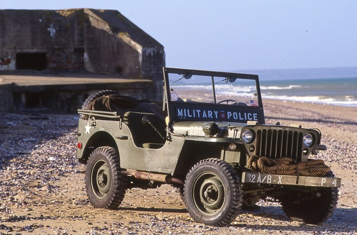 Coches clásicos americanos: Willys Jeep
