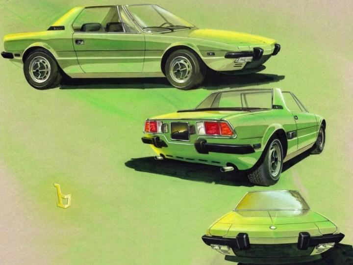 Diseño italiano de automóviles: Bertone