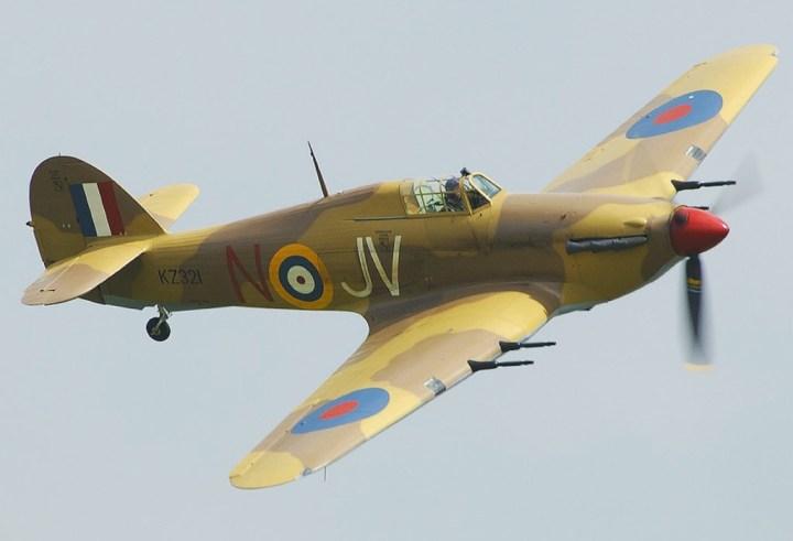 Hawker Hurricane, uno de tantos con motor Rolls–Royce