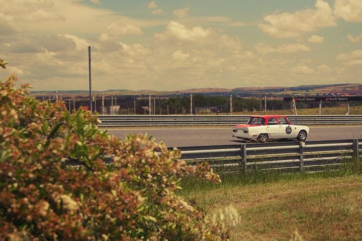 Alfa Romeo Giulia en Jarama Classic