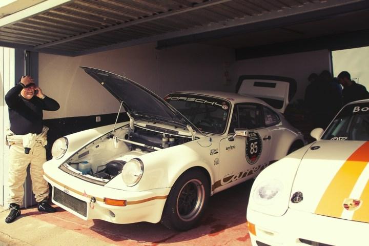 Porsche 911 en Jarama Classic