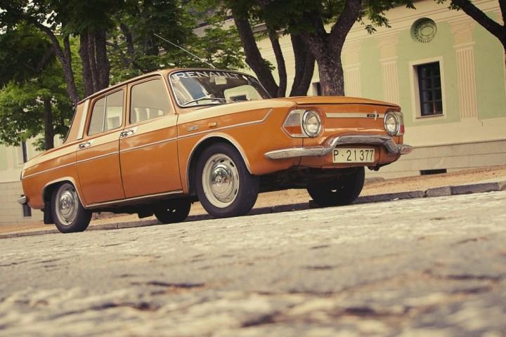 Renault 10 en La Granja de San Ildefonso